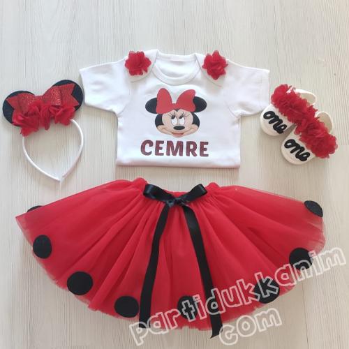 Minnie Mouse Tütü Etek Takım Ayakkabılı, fiyatı