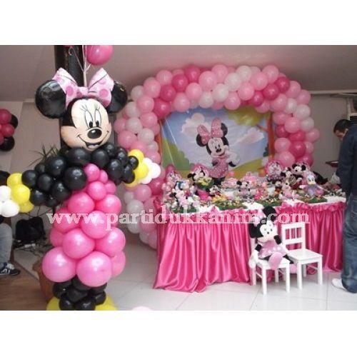 Minnie Mouse Parti Süsleme