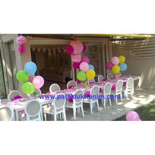 Doğum Günü Masa Süsleme (20 Adet Uçan Balon)