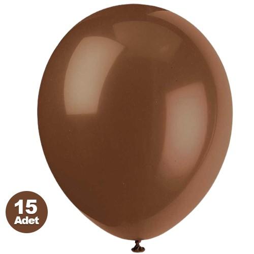 Kahverengi Balon 15 Adet, fiyatı