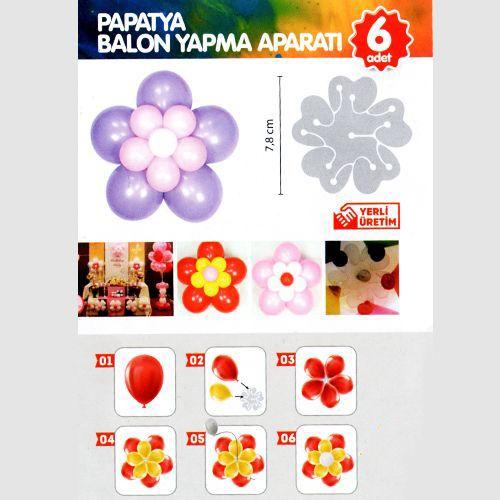 Papatya Balon Yapma Aparatı 11'li (6 Adet)