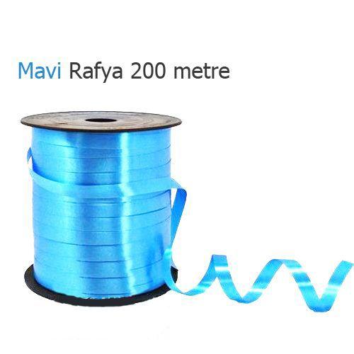 Açık Mavi Rafya 200 metre