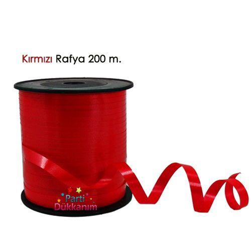 Kırmızı Rafya 200 metre