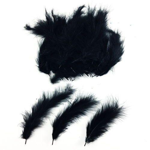 Şeffaf Balon İçi Tüy Siyah 100 adet, fiyatı