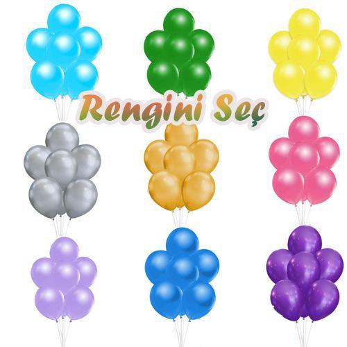 Balon Standı + Metalik Balon (A-Kalite), fiyatı