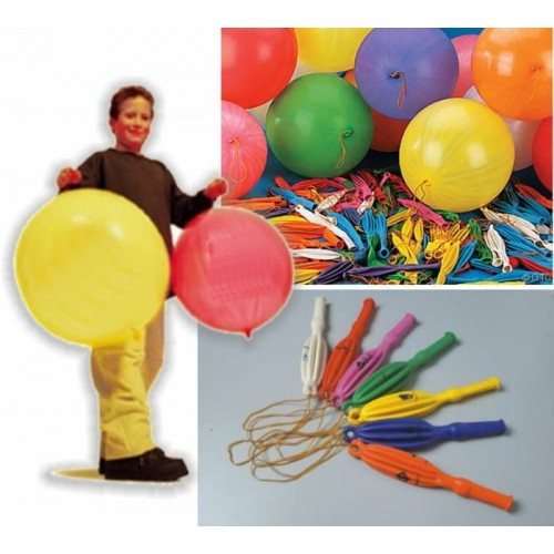 Lastikli Basket (Punch) Balon 50 Adet