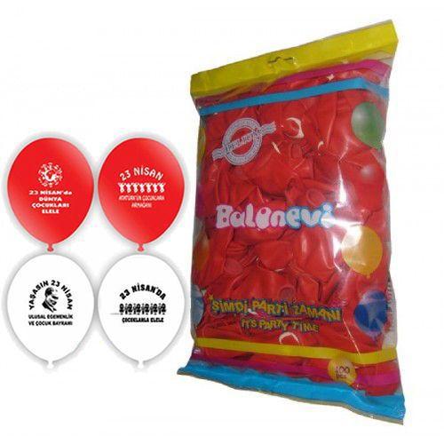 23 Nisan Balonları (100 adet)