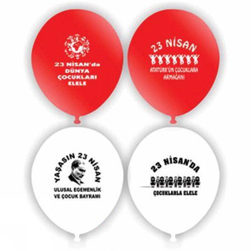 23 Nisan Balonları 50 adet