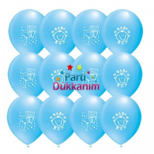 Baby Boy Balon (100 adet ), fiyatı