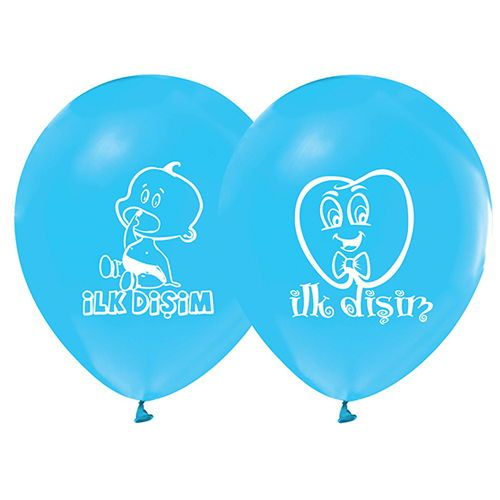 Diş Buğdayı Mavi Balon (20 Adet)