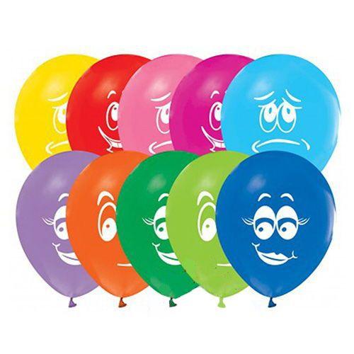 Gülenyüz Smile Renkli Balon (15 Adet)
