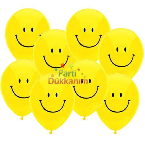Gülenyüz Balon (20 Adet)