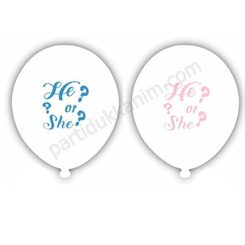 He Or She Balon (15 adet)