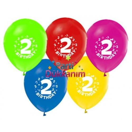 2 Yaş Balonları (20 adet)