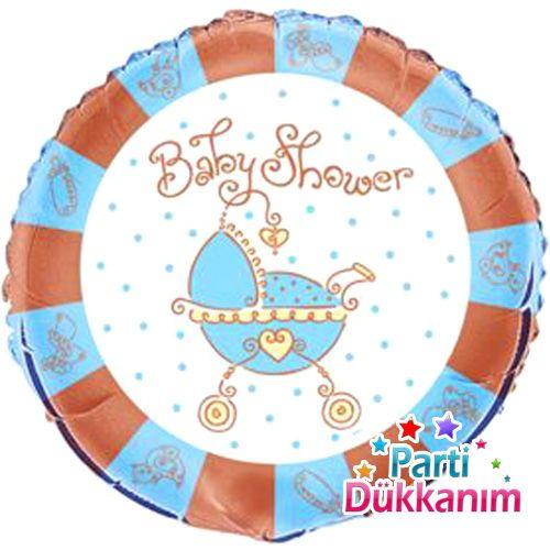 Baby Shower Folyo Balon (45 cm)