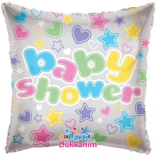 Baby Shower Clear Folyo Balon (18 inch)