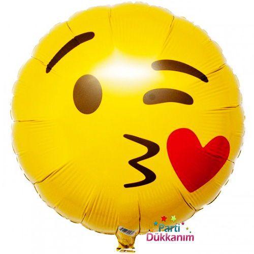 Emoji Folyo Balon 45 cm