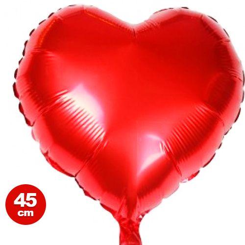 Kırmızı Kalp Folyo Balon (45 cm)