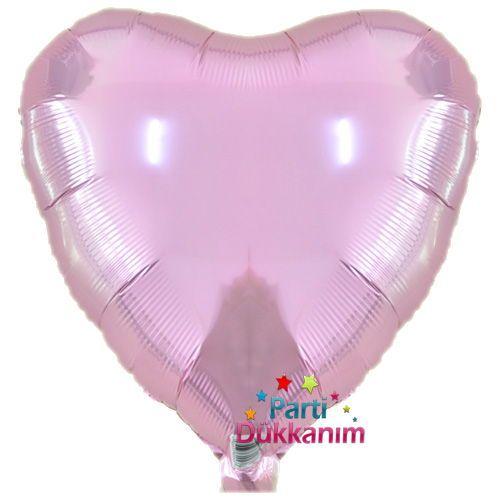 Pembe Kalp Folyo Balon (45 cm), fiyatı