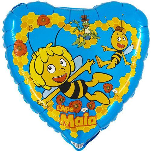 Arı Maya Mavi Folyo Balon (45 cm)