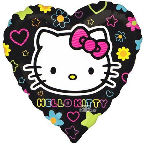 Hello Kitty Folyo Balon Kalpli (45 cm)