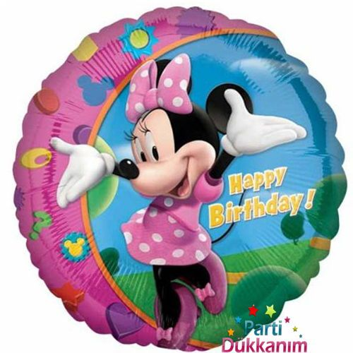 Minnie Mouse Folyo Balon 18 inc