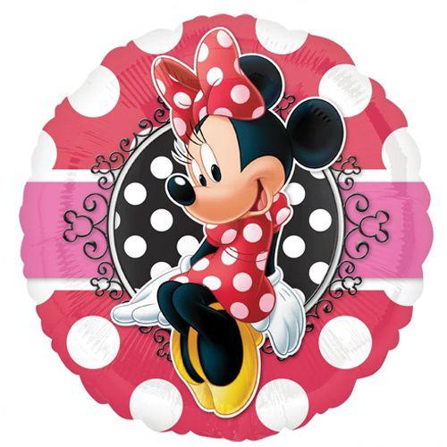 Minnie Mouse Folyo Balon 18\'\' 45 cm