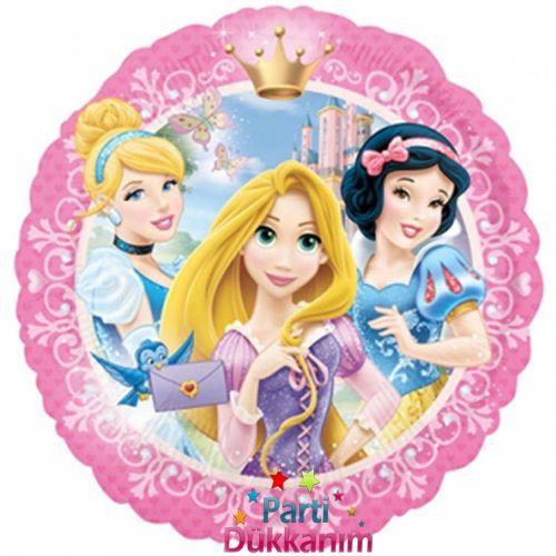 Prensesler Folyo Balon 18 inc