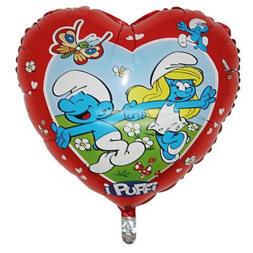 Şirinler Folyo Balon (45 cm)