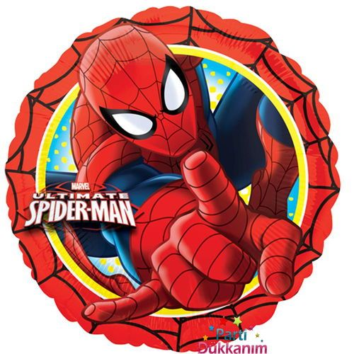 Spiderman Happy Birthday Folyo Balon (45 cm)