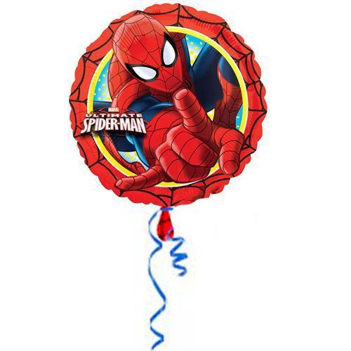 Spiderman Happy Birthday Folyo Balon (45 cm), fiyatı