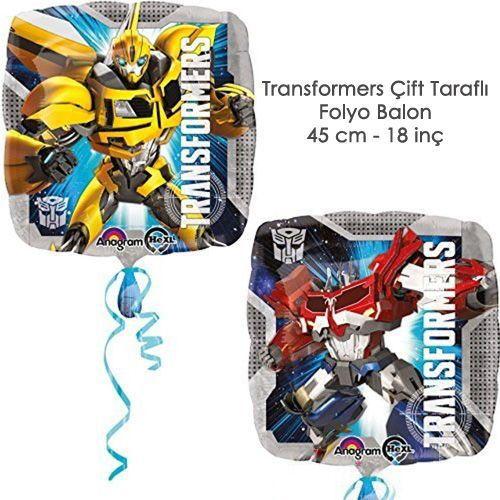 Transformers Folyo Balon 45 cm, fiyatı