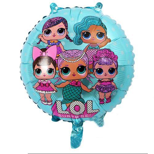 LOL Bebek Folyo Balon Mavi (45 cm), fiyatı