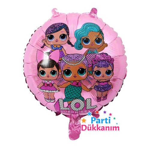 LOL Bebek Folyo Balon Pembe (45 cm), fiyatı
