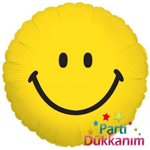 Smiley Face Folyo Balon 45 cm
