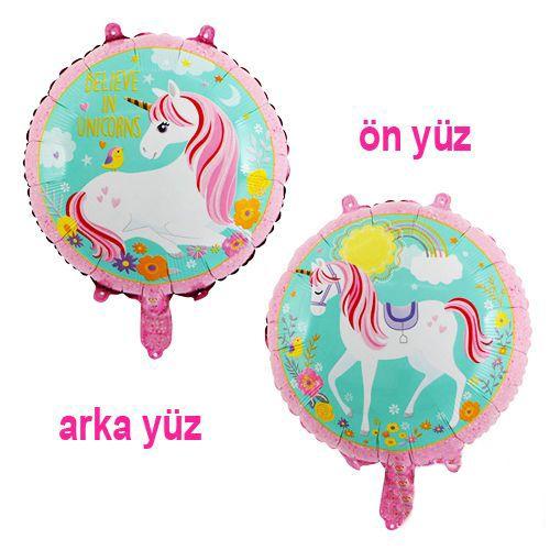 Unicorn Folyo Balon 45 cm, fiyatı