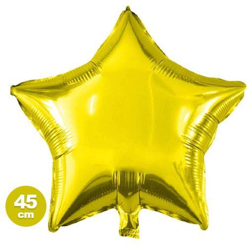Yıldız Folyo Balon Dore (45 cm)