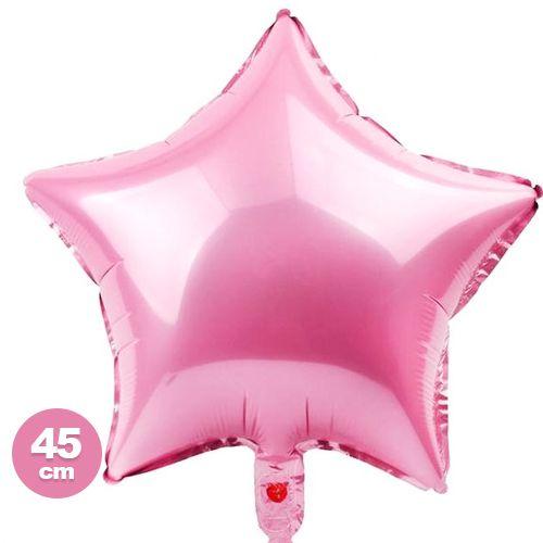Yıldız Folyo Balon Pembe (45 cm)
