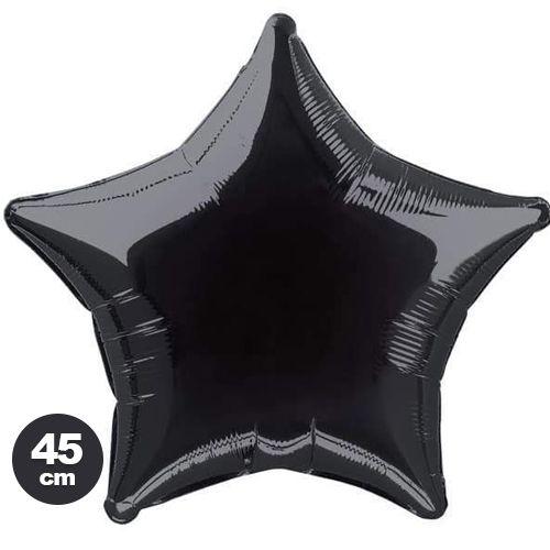 Yıldız Folyo Balon Siyah (45 cm), fiyatı