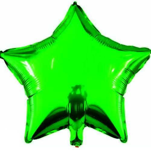 Yıldız Folyo Balon Yeşil (45 cm)