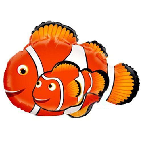 Balık Nemo Folyo Balon (80x70 cm)