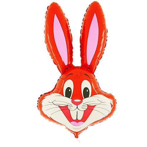 Tavşan Folyo Balon Kırmızı (90 cm)