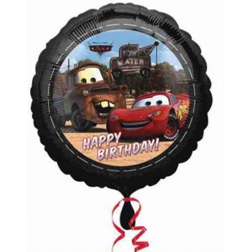 Cars Folyo Balon Siyah (45 cm)