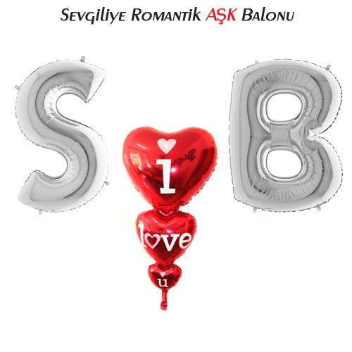 Sevgiliye Romantik AŞK Balonu, fiyatı