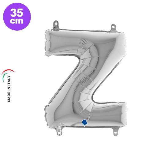 Z - Harf Folyo Balon Gümüş (35 cm), fiyatı