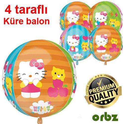 Hello Kitty Folyo Balon 43x45 cm ORBZ, fiyatı