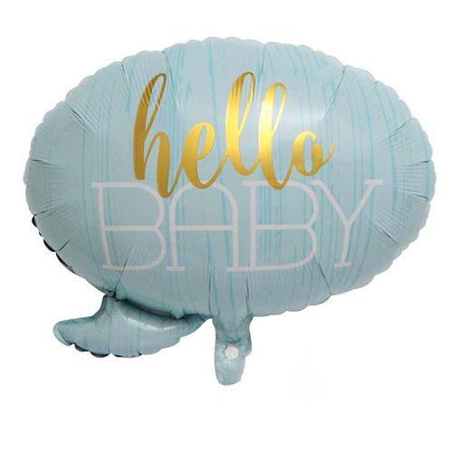 Hello Baby İt's A Boy Folyo Balon 3'lü Set, fiyatı