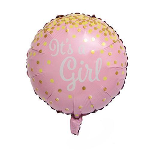 Hello Baby İt's A Girl Folyo Balon 3'lü Set, fiyatı