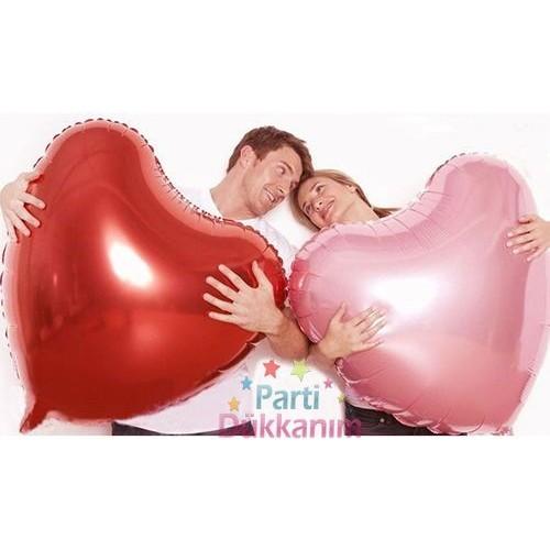Kalp Balon Kırmızı Büyük (30 inc-75 cm), fiyatı