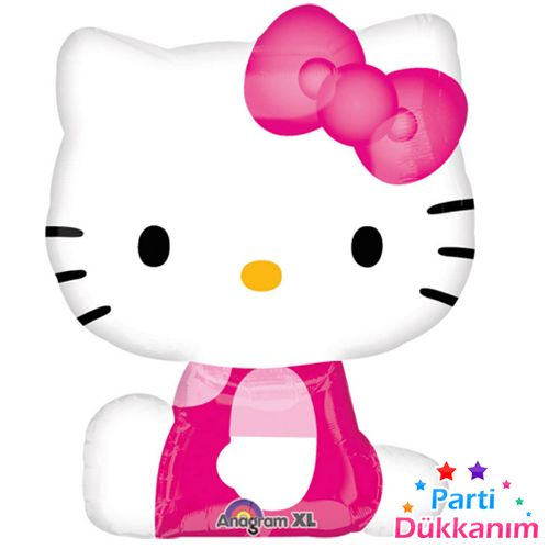 Hello Kitty Balon Folyo 88 cm, fiyatı